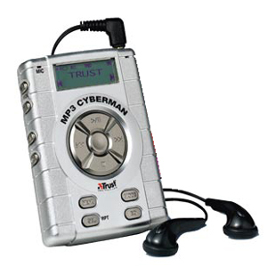 Trust CyberMan 32MB MP3 Player