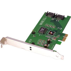 Sata Ii PCIe Rohs Comp 2port PCI Express X1 Card