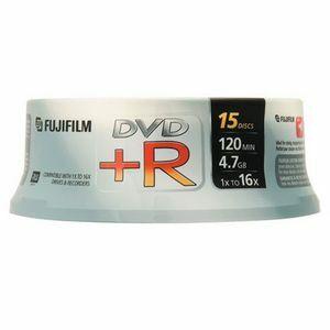 Spindle de 10 DVD-R  Fujifilm 4.7 Go 16x - 47588