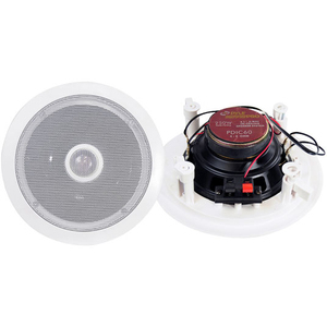 Pyle 6.5in Ceiling Coaxial Speaker Pair / Mfr. No.: Pd-Ic60