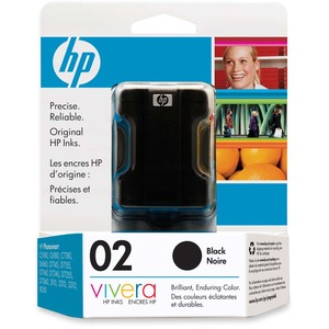 HP Inkjet Cartridge C8721WC #02 Black