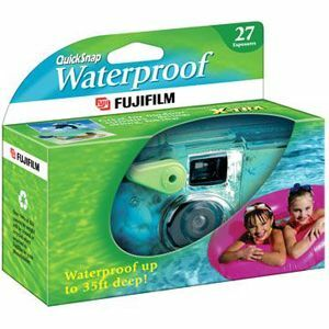 Fuji Quicksnap Waterprf Disposable 35mm Camera / Mfr. No.: 7025227