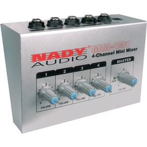 Nady 4 Channel Mini Mixer / Mfr. No.: Mm-141
