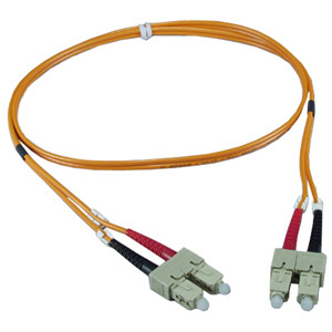 1m Sc To Sc Multimode Fiber Dupl Patch Cord 2xscm To 2xscm / Mfr. no.: FDSC-1M