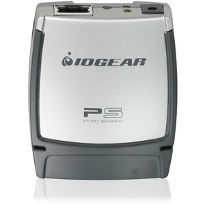 Iogear 1-port USB 2.0 Print Server / Mfr. No.: Gpsu21