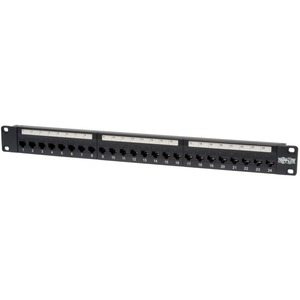 24port Cat5e Feed Thru Patch Panel 2 / Mfr. No.: N054-024