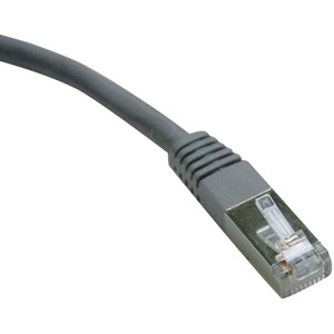 100ft Cat5e Or Cat5 Molded Gray Rj45m/M Shielded Patch Cable / Mfr. No.: N105-100-Gy