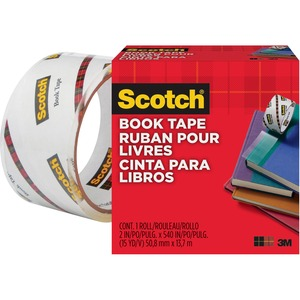 "Scotch® 845 Book Tape 2"" Clear"