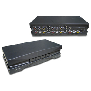 Rf Link 4 Way A/V Select W/S-Video / Mfr. No.: Avs-41