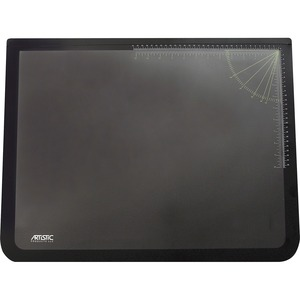 "Artistic Lift-Top Desk Pad 19"" x 24"" Black"