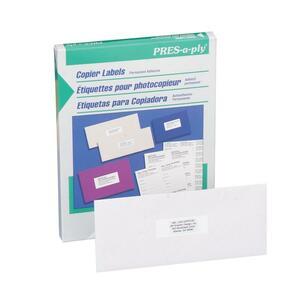 """Labels Copier 1-1/2x2-3/4"""" 2100/box"""