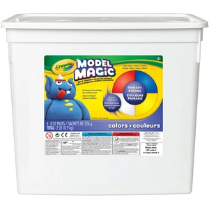 Crayola® Model Magic® 225 g Assorted Colours 4/tub