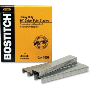 """Staples Heavy Duty 1/4"""" 1000/box"""