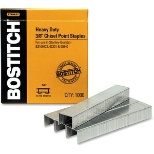 "Bostitch® Heavy-Duty Staples 3/8"" 1,000/box"