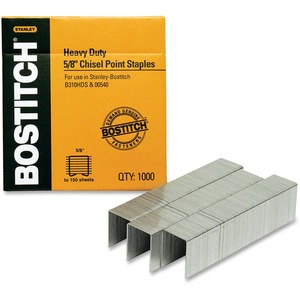 "Bostitch® Heavy Duty Staples 5/8"" 85-130 sheets 1,000/box"