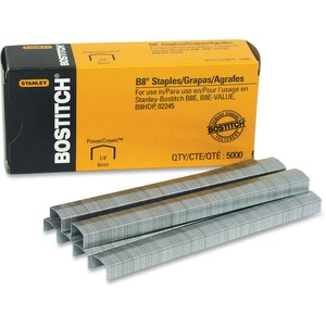 "Bostitch® B8®  PowerCrown Staples 1/4"" Arch Crown 5,000/box"