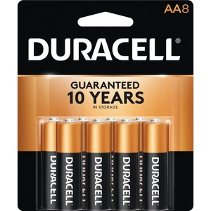 "Duracell® CopperTop® Batteries ""AA"" 8/pkg"