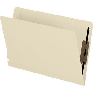 Shelf Folder w/Fastener Lam Manila