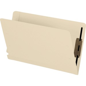 Pendaflex® Laminated Folders with Fasteners #1 and #3 Legal Manila 50/box
