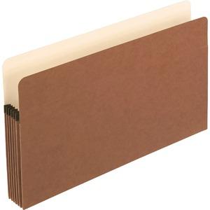 "Pendaflex® Vertical File Pocket with Reinforced Gussets 5-1/4"" Expansion Legal"