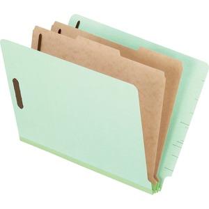 Pendaflex® Pressboard Shelf Classification Folder Letter Pale Green