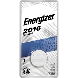 Energizer 3v Lithium Cel Button Battery / Mfr. No.: Ecr2016bp