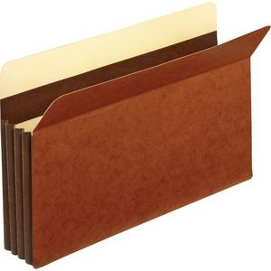 "Pendaflex® Vertical File Pocket with Tear Resistant Gussets 3-1/2"" Expansion Legal"