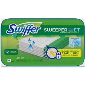 Swiffer® Sweeper Refills Wet Cloths 12/pkg