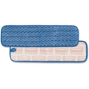 "Rubbermaid® HYGEN Mopping Pads, Floor Pad, 18"", Blue"