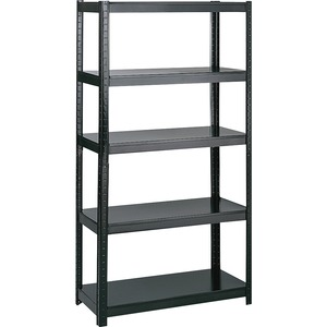 "Safco® Boltless Steel Shelving 36"" x 18"" Black"