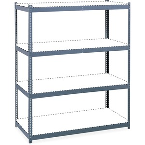 "Safco® Archival Shelving Steel Frame 69"" x 33"" Grey"