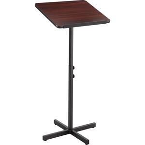 Safco® Adjustable Speaker Podium Mahogany