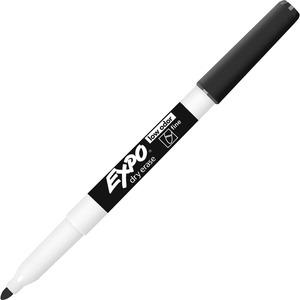 Expo® Low Odour Dry Erase Marker Fine Tip Black