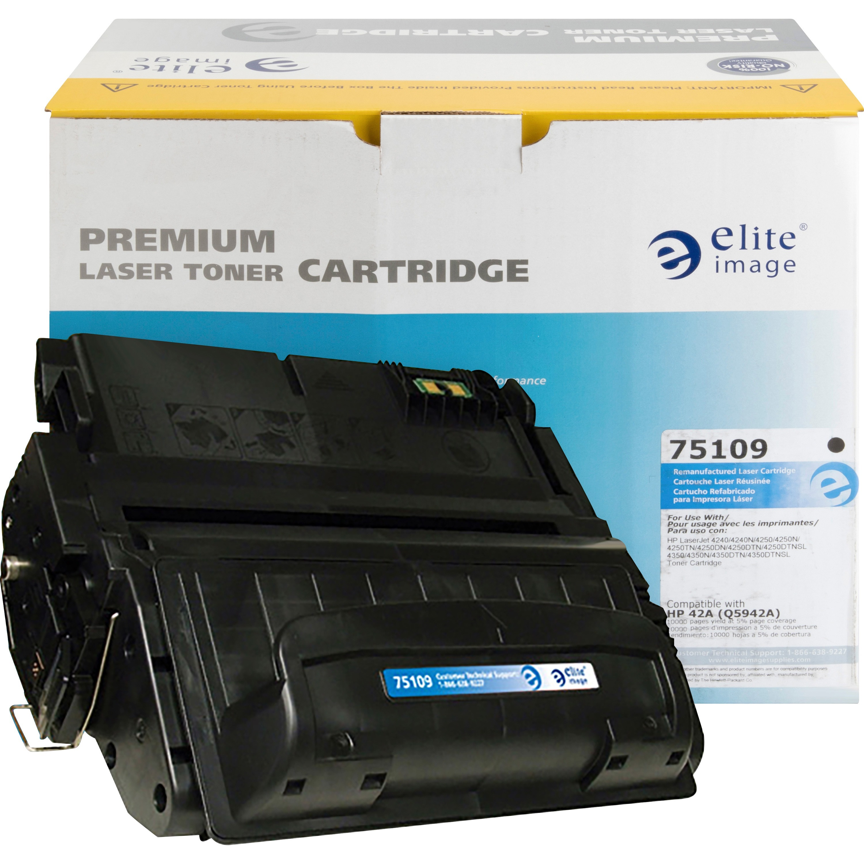 4 Pack Q5942A 42A Black Toner Cartridge Compatible for HP LaserJet 4250n 4250tn