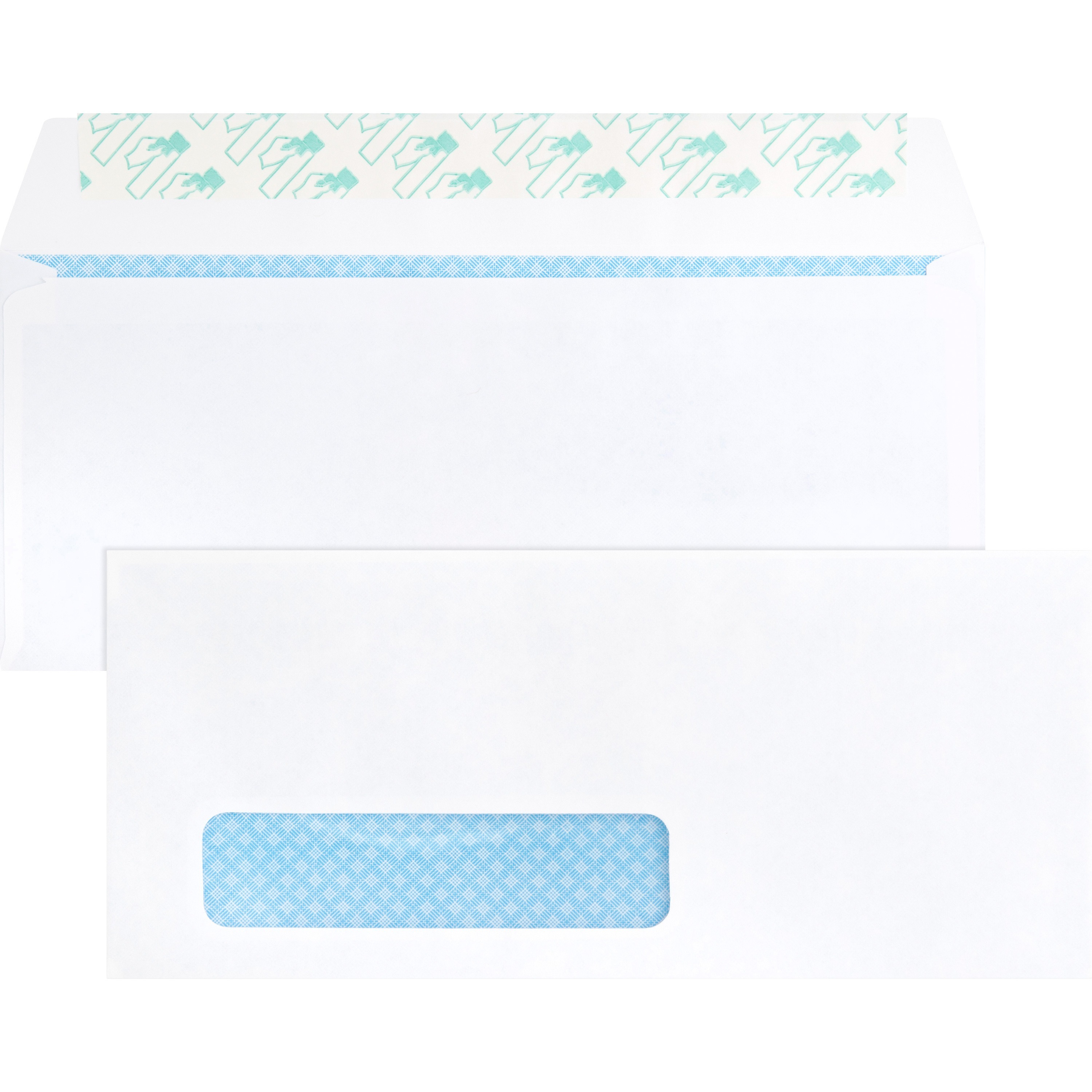 Forms /& Check Envelopes 10 Right Side Window 24lb 4 1//8 1//2 Bright White 50