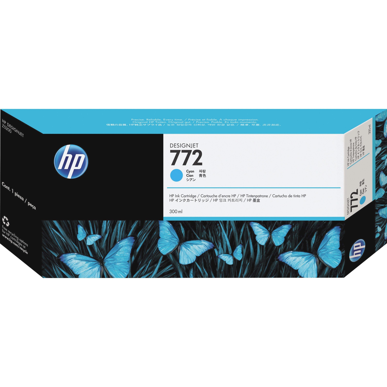 HP No. 772 Ink Cartridge - Cyan