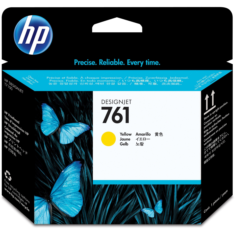 HP 761 Original Printhead - Yellow - Inkjet - 1 Each