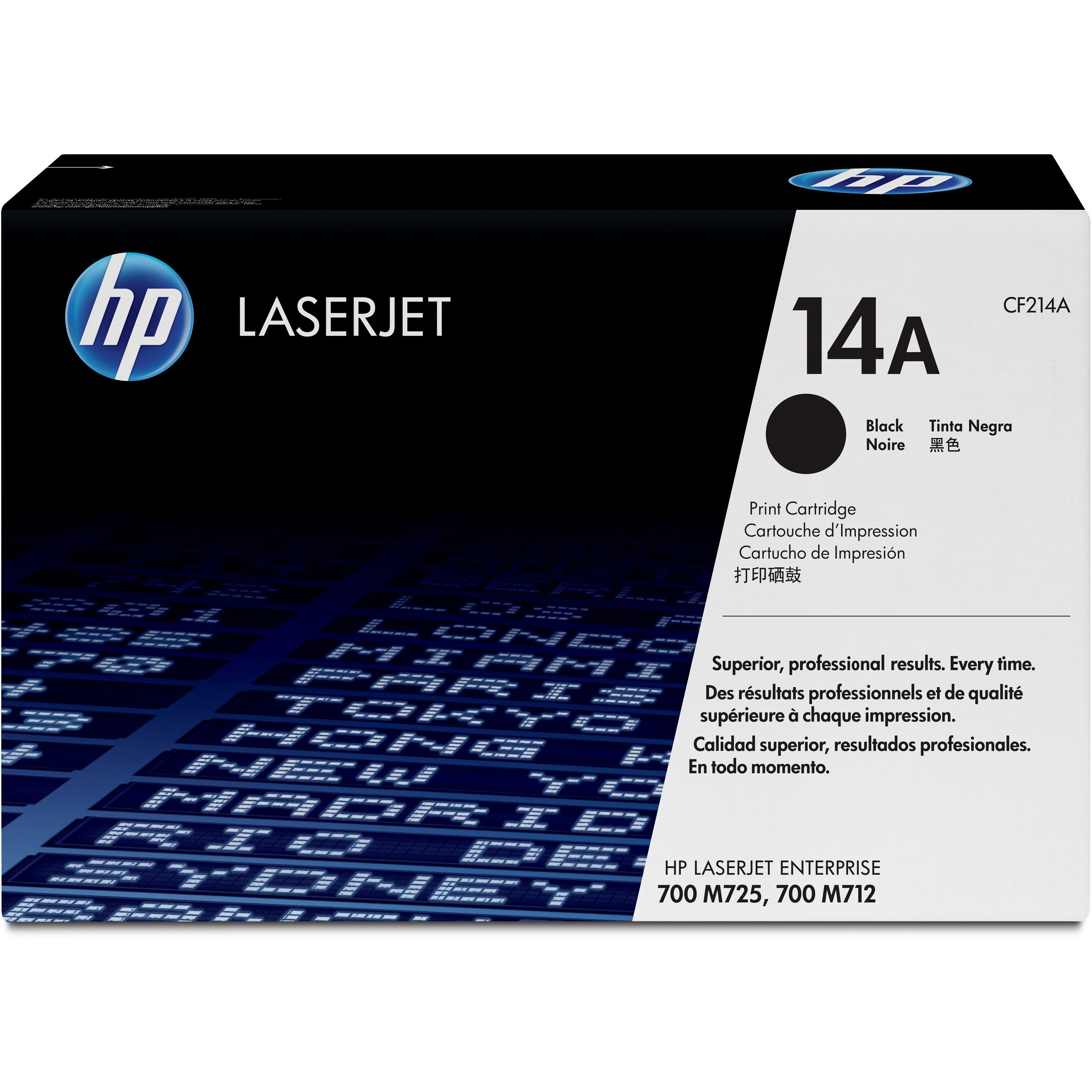 HP 14A Toner Cartridge - Black