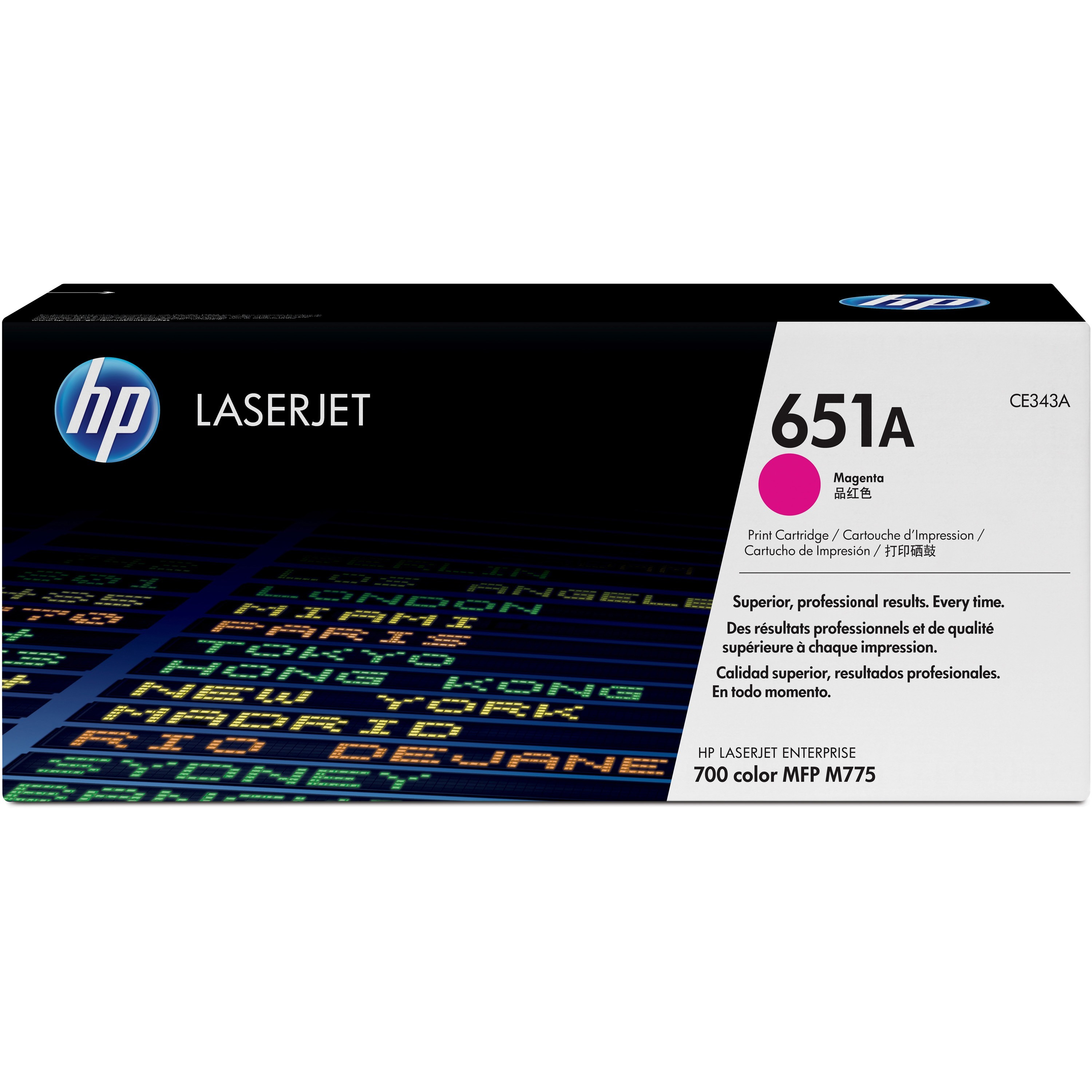 HP 651A Toner Cartridge - Magenta