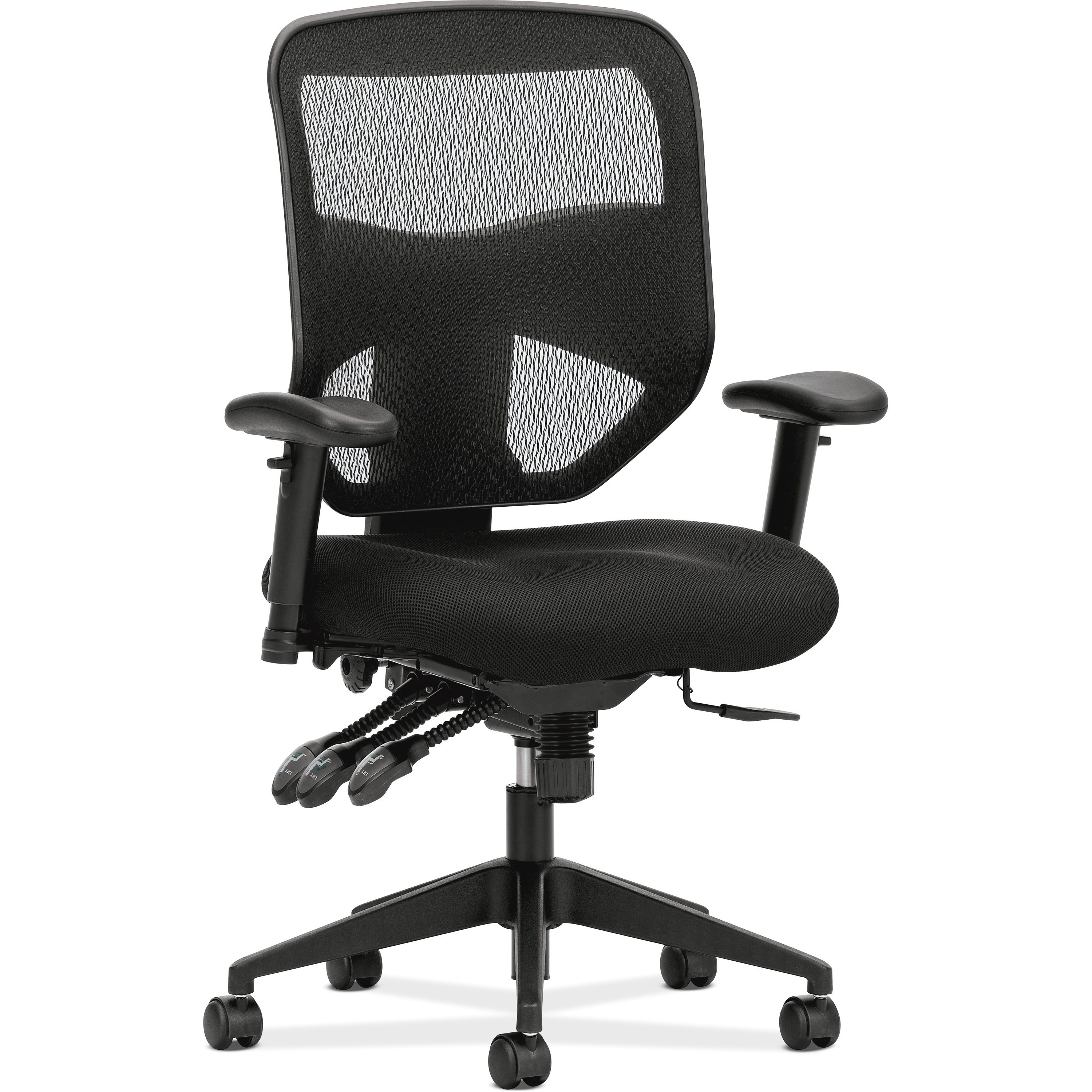 Product BSXVL532MM10 basyx by HON HVL532 Mesh High Back Task Chair