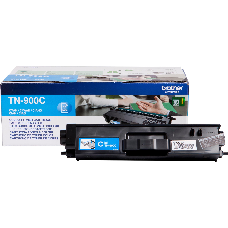 Brother TN900C Toner Cartridge - Cyan