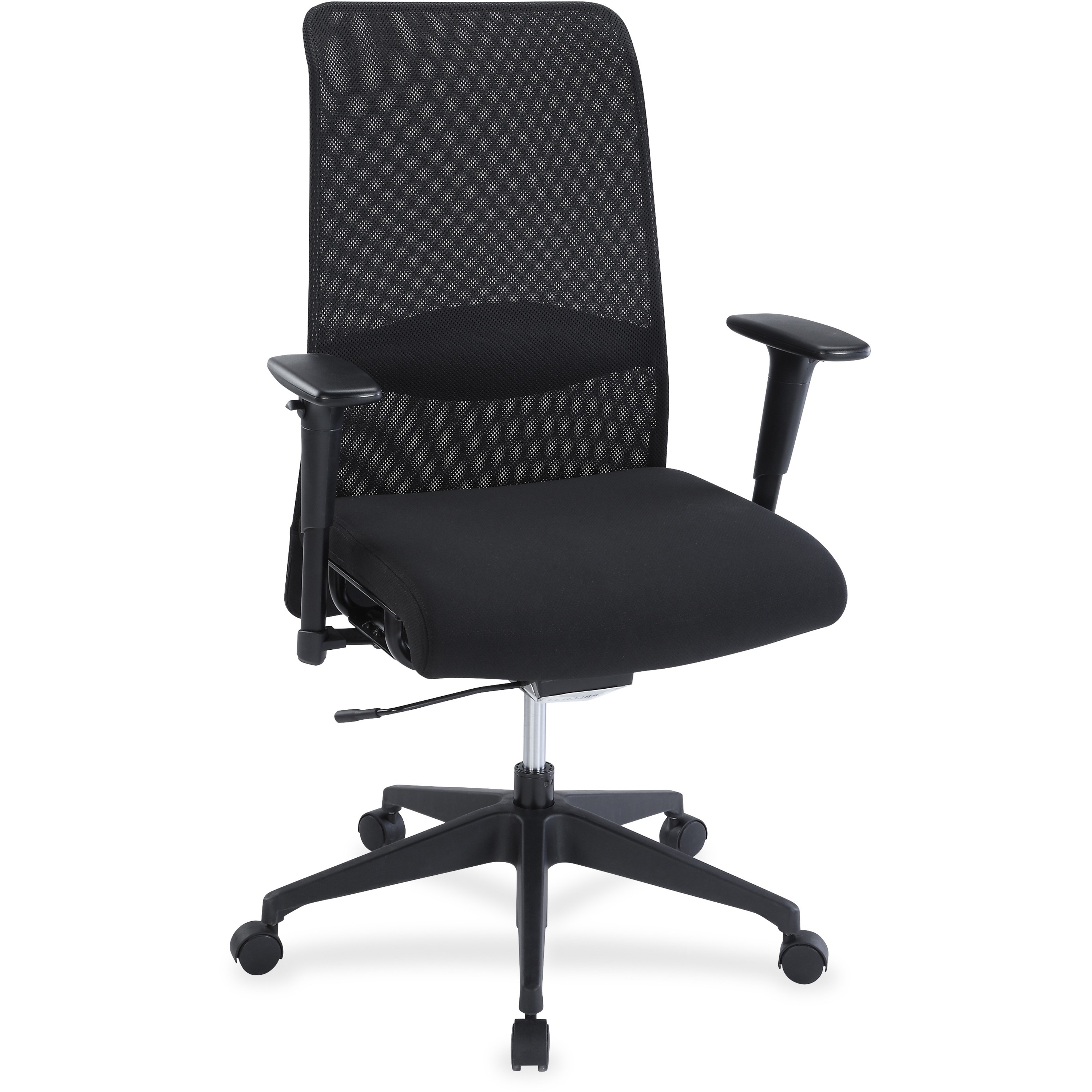 Remarkable Product Llr34854 Lorell Weight Activated Mesh Back Evergreenethics Interior Chair Design Evergreenethicsorg