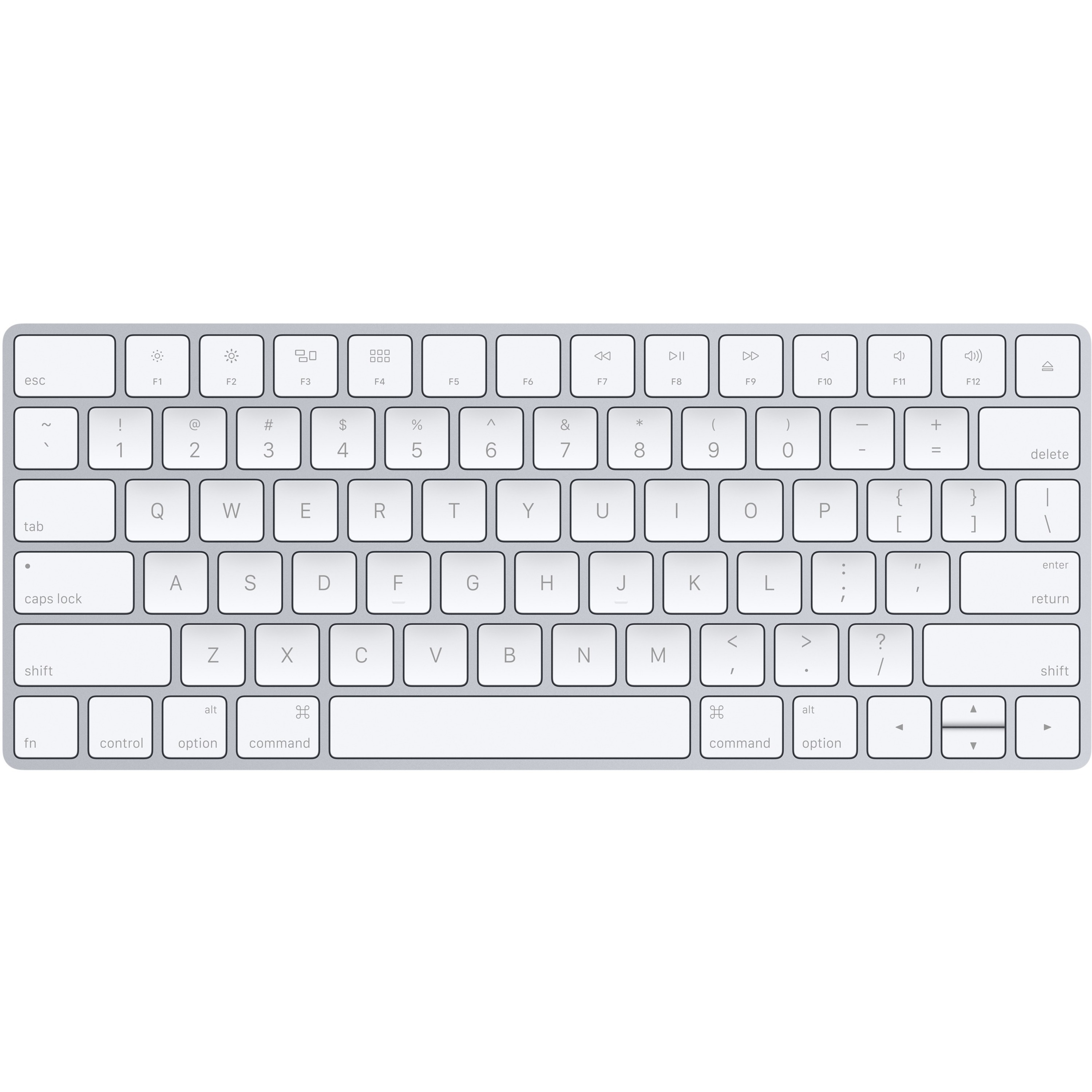 5b1e601ff42 Apple Magic Keyboard - US English - Wired/Wireless Connectivity - Bluetooth  - Lightning Interface - English, French - Compatible with Computer - QWERTY  Keys ...