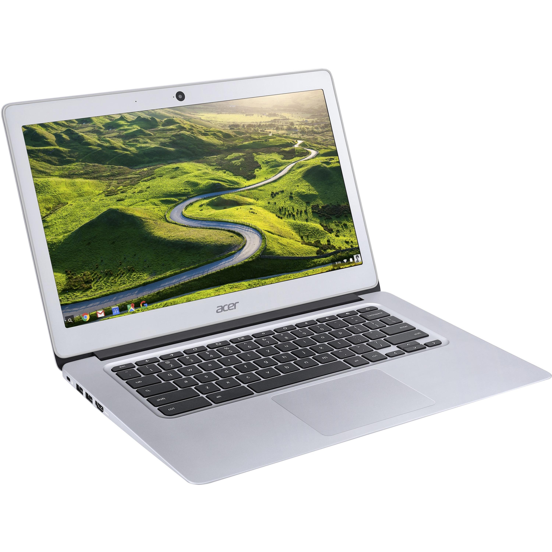 Acer CB3-431-C6WH 35.6 cm 14inch LCD Chromebook - Intel Celeron N3060 Dual-core 2 Core 1.60 GHz