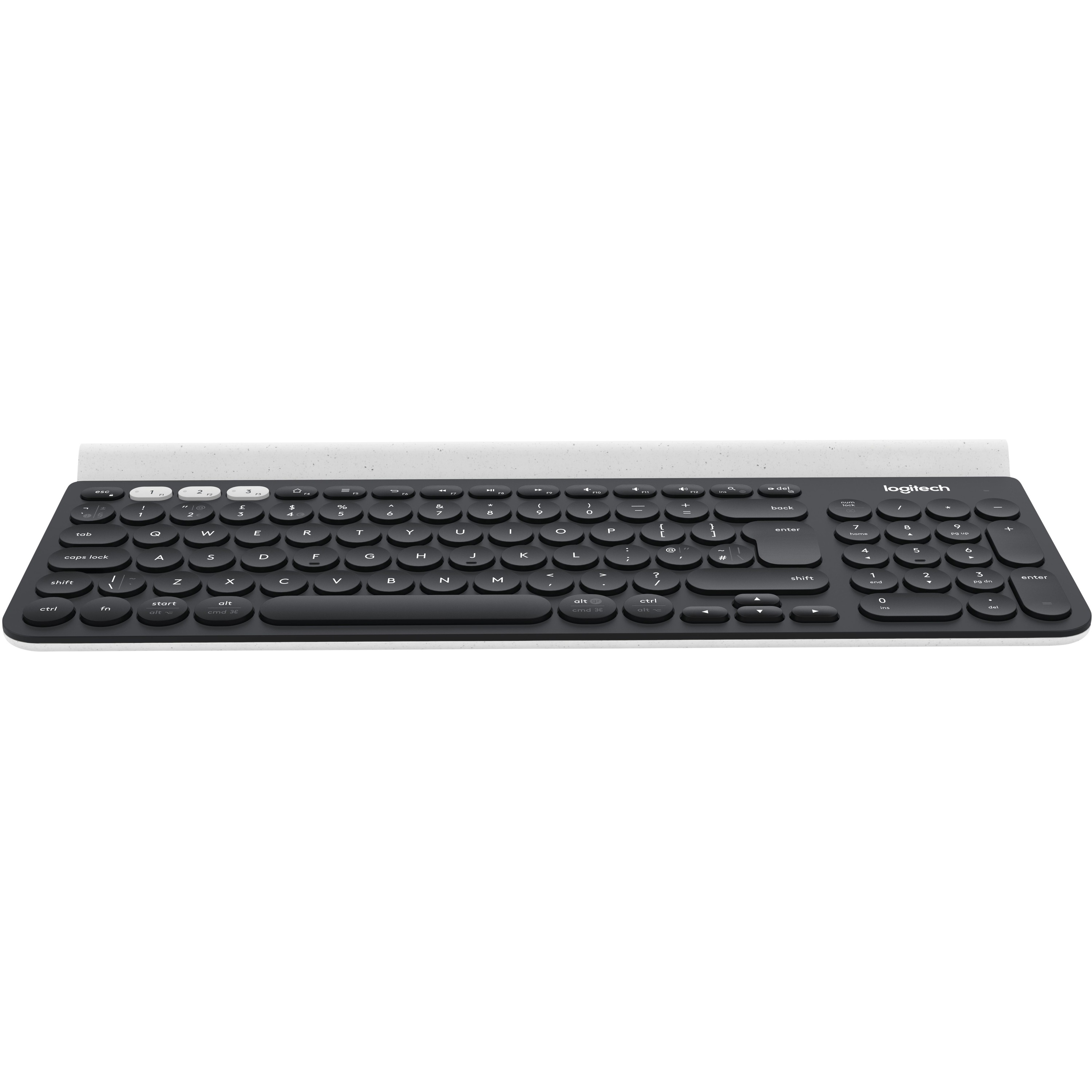 Logitech K780 Keyboard - White, Dark Grey