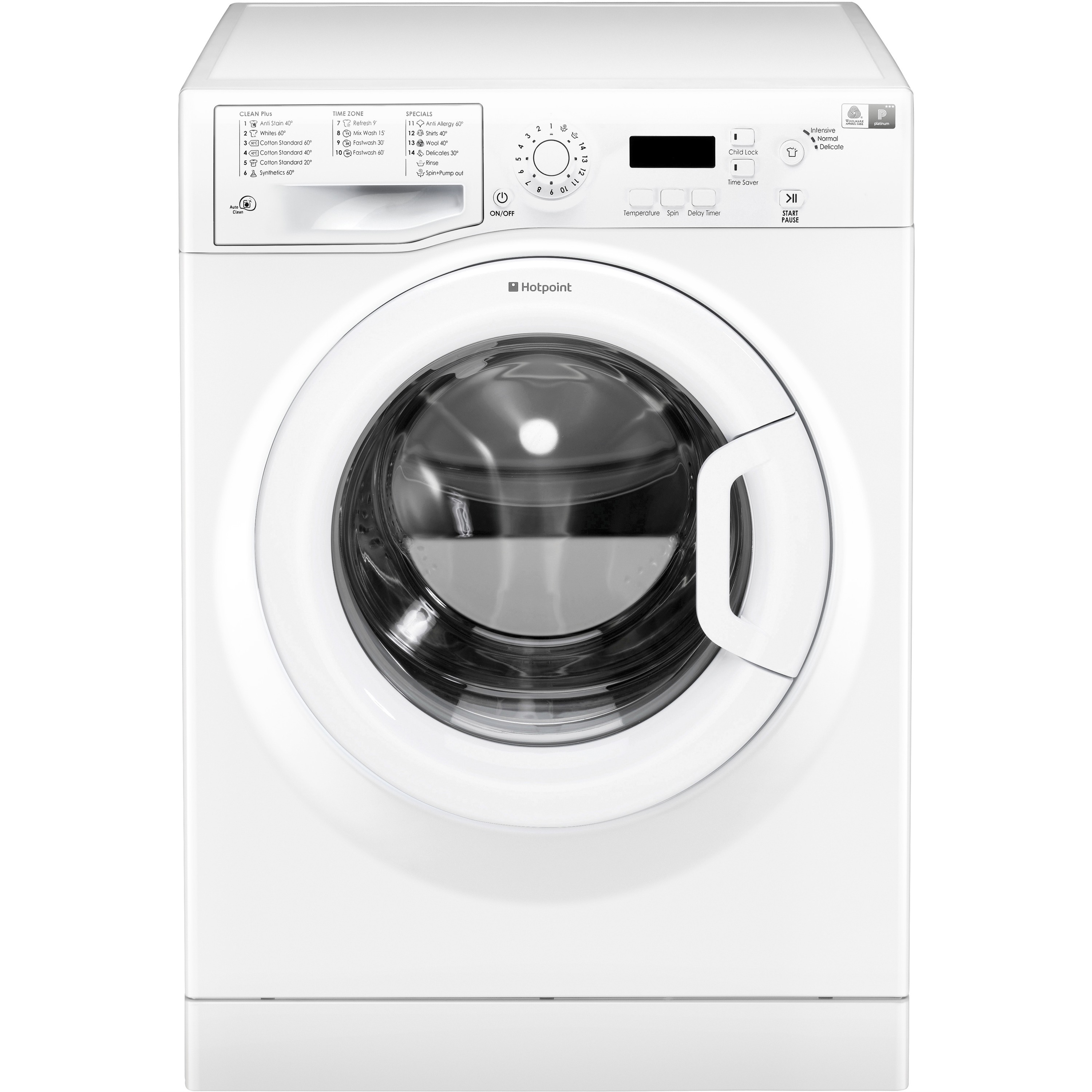 Hotpoint Top Loading Washing Machine Hotpoint 1400 Spin 7kg Washing Machine Wmeuf743p