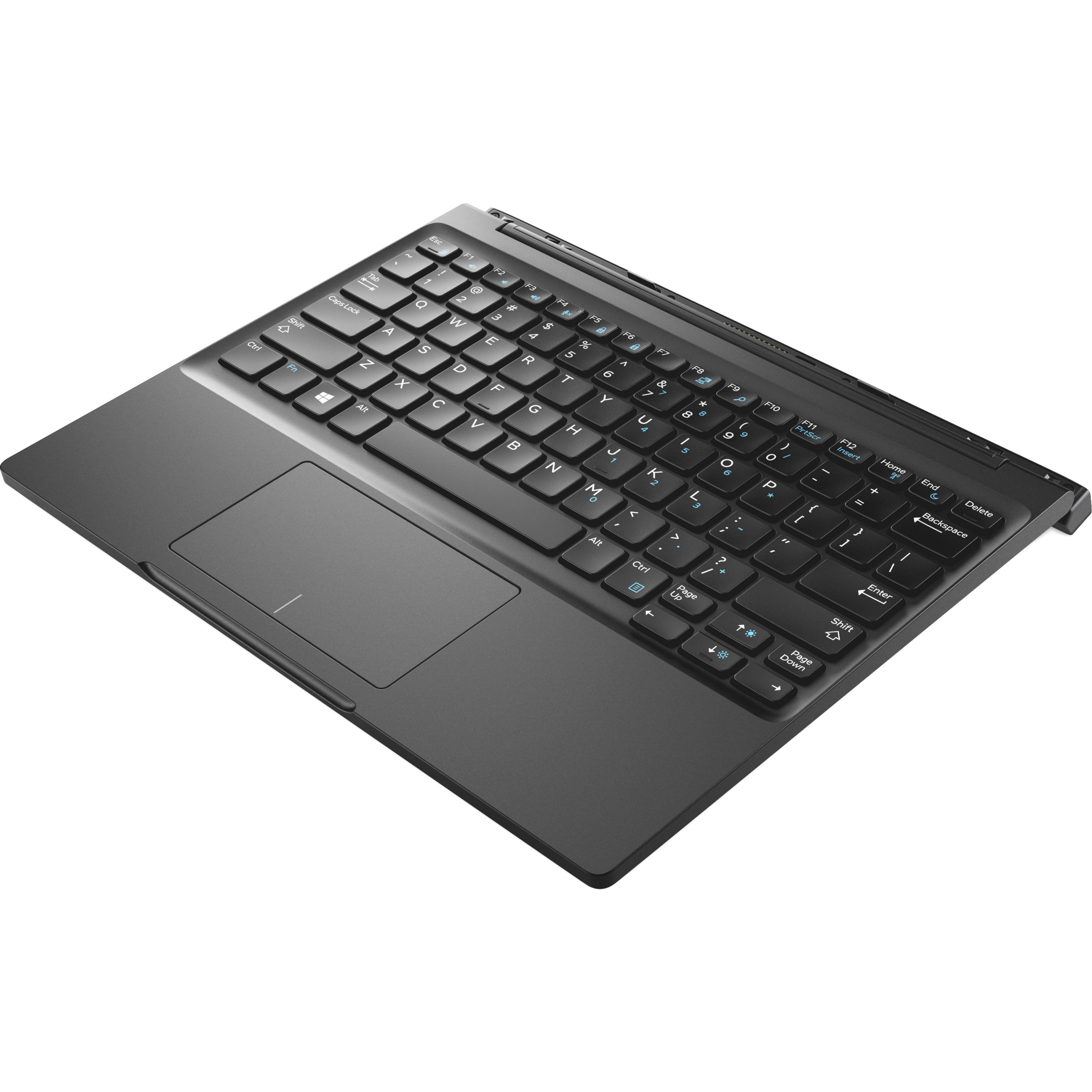 Dell Latitude 7285 Productivity Keyboard - K17M - Docking Connectivity -  Docking Port InterfaceTouchPad - Compatible with Tablet, Notebook (Windows)  -