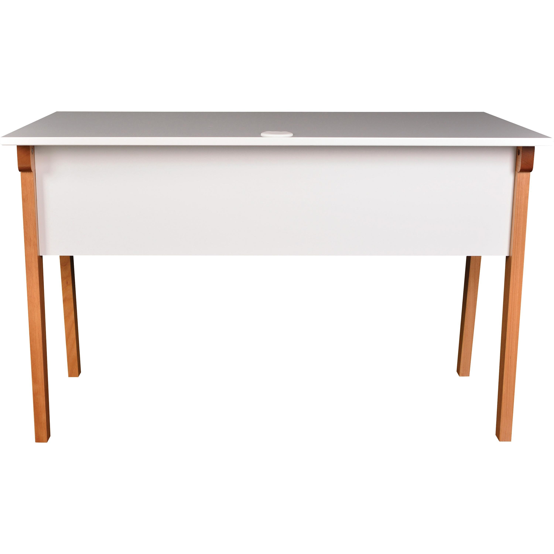 LLR 39  Lorell Mid-century Modern Office Desk - Lorell Furniture