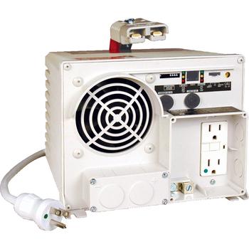 "Tripp Lite 1250W Ambulance / EMS Inverter / Charger 12VDC 120VAC 14/55A 2 Outlets - Input Voltage: 12 V DC, 120 V AC - Output Voltage: 120 V AC - Continuous Power: 1.25 kW"""