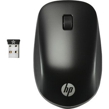 HP Ultra Mobile Wireless Mouse - Wireless - Radio Frequency - 2.40 GHz - USB - Scroll Wheel - 3 Button(s) - Symmetrical